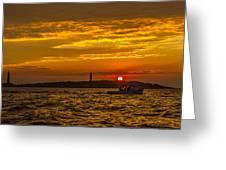 Thacher Island Lights Greeting Card