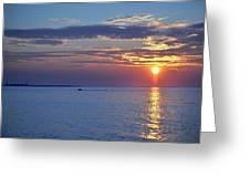 Thacher Island Twin Lights  Greeting Card