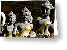 Thai Buddha Greeting Card