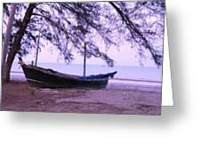 Thai Fishing Boat 04 Greeting Card