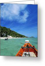 Thailand Boat Greeting Card