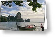Thailand Evening Greeting Card