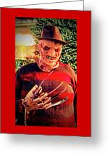 Things Can Get Ugly Fast On Halloween  Greeting Card