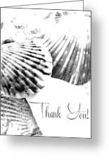 Thank You Seashell Greeting Card