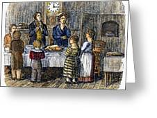 Thanksgiving, 1853 Greeting Card