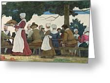 Thanksgiving Banquet Greeting Card