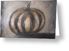 Thanksgiving - Pumpkin Greeting Card