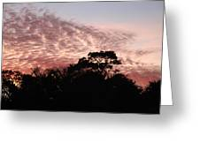 Thanksgiving Sky Greeting Card