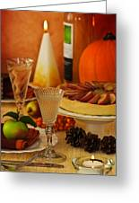 Thanksgiving Table Greeting Card