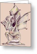 That Bat Man Rat Greeting Card