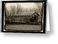 That Old Covered Bridge Greeting Card