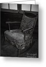 That Seventies Chair  Greeting Card