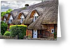 Thatched Cottages In Chawton 2 Greeting Card
