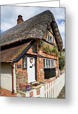 Thatched Cottages In Chawton 4 Greeting Card
