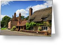 Thatched Cottages In Chawton 6 Greeting Card