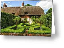 Thatched Cottages In Chawton 7 Greeting Card