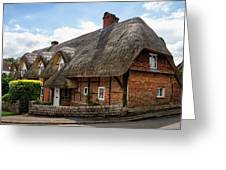 Thatched Cottages In Chawton Greeting Card