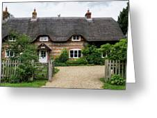 Thatched Cottages Of Hampshire 11 Greeting Card