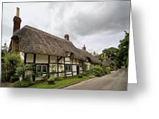 Thatched Cottages Of Hampshire 14 Greeting Card