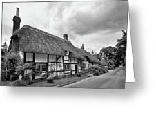 Thatched Cottages Of Hampshire 15 Greeting Card