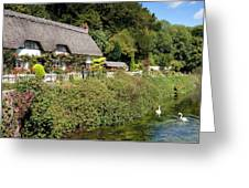 Thatched Cottages Of Hampshire 16 Greeting Card