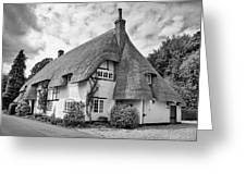 Thatched Cottages Of Hampshire 17 Greeting Card