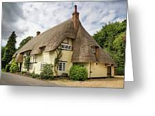 Thatched Cottages Of Hampshire 18 Greeting Card