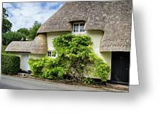 Thatched Cottages Of Hampshire 19 Greeting Card
