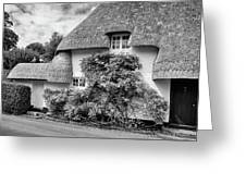Thatched Cottages Of Hampshire 20 Greeting Card