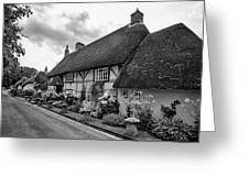 Thatched Cottages Of Hampshire 22 Greeting Card