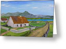 Thatched House 2 Greeting Card