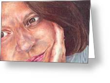 That's Me  Greeting Card by Melissa J Szymanski