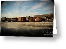 Thawing Saugatuck  Greeting Card