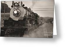 The 1702 At Dillsboro Greeting Card