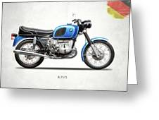 The 1972 R75 Greeting Card