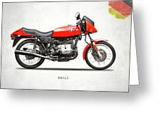 The 1982 R65ls Greeting Card