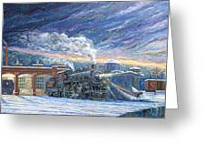 The 501 In Winter Greeting Card