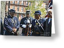 The 54th Regiment Bos2015_185 Greeting Card