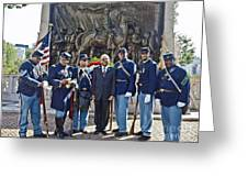 The 54th Regiment Bos2015_191 Greeting Card