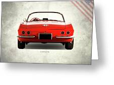 The 62 Corvette Greeting Card
