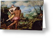 The Abduction Of Proserpine Greeting Card