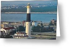 The Absecon Lighthouse In Atlantic City New Jersey Greeting Card