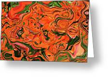 The Abstract Days Of Autumn Greeting Card
