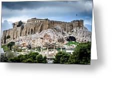 The Acropolis - Athens Greece Greeting Card