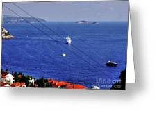 The Adriatic Sea Greeting Card
