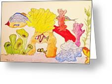 The Age Of Aquarium Greeting Card