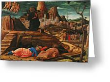 The Agony In The Garden 1455 Greeting Card