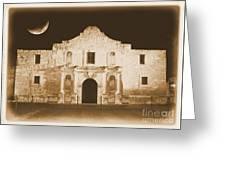 The Alamo Greeting Card Greeting Card