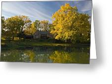 The Alexander Farm And Pond Greeting Card