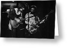 The Allman Brothers Dicky Betts Greeting Card by Don Struke